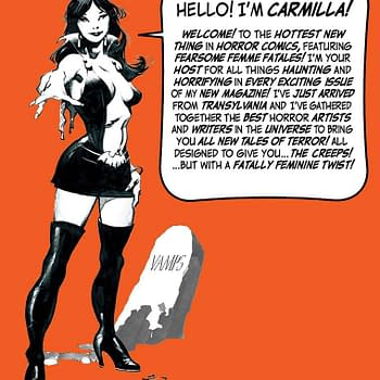 Separated At Birth: Vampirella vs Richard Salas Carmilla