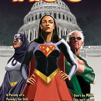 New Printing of AOC Comic Takes on DC Comics Directly Raises Money For Immigrant Legal Services