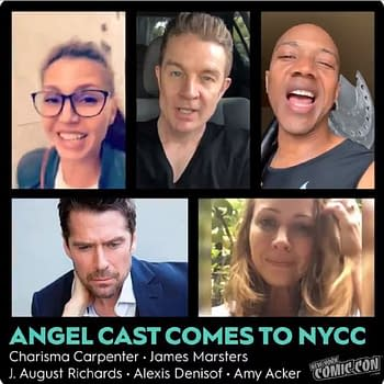 Angel Cast Talks Spikes Soul Cordelias Return Gunns Unanswered Questions &#038 More [NYCC 2019]