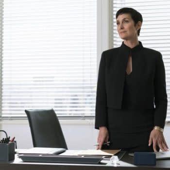 """Marvel's Jessica Jones"" Season 3: Carrie-Anne Moss on Jeri Hogarth's Adversity"