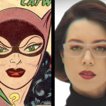 Aubrey Plaza Licks Stephen Colbert in Catwoman Audition for The Batman