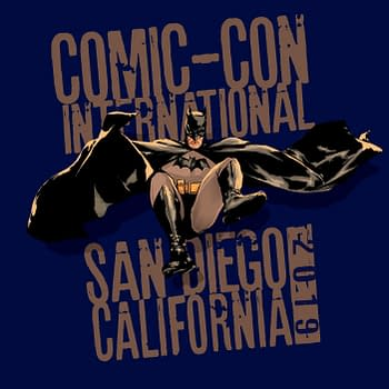 Mitch Gerads Designs SDCC Batman Shirt One of Many Across the Decades For Comic-Con 50