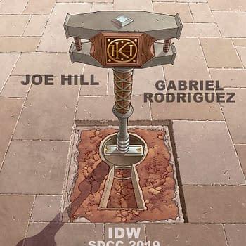 Joe Hill and Gabriel Rodriguez Locke &#038 Key Returns &#8211 San Diego Comic-Con Announcement Coming&#8230