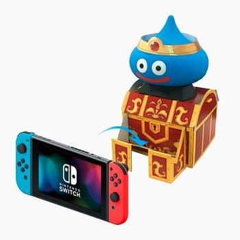 Square Enix Releases a Japanese Dragon Quest Slime Switch Controller