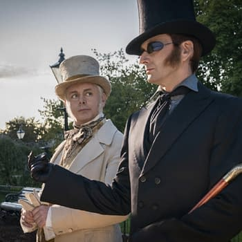 Good Omens Crew Posts Touching Terry Pratchett Tribute