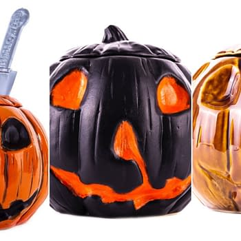Halloween Jack-O-Lantern Tiki Mugs From Mondo On Sale Today