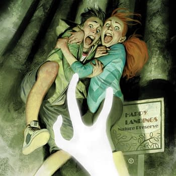 R.L. Stine to Scare More Children with Just Beyond: The Horror at Happy Landings OGN