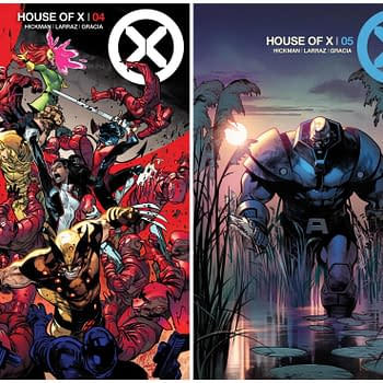Apocalypse Sinister and The Xavier Memorial in New House of X and Powers of X Covers and Art
