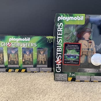 Giveaway: Playmobil Ghostbusters Figure Four Pack and Collectors Edition Figure