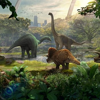 Jurassic World Alive Just Got A New Sanctuaries Feature