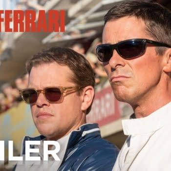 "First Trailer for ""Ford Vs. Ferrari"""