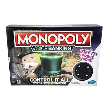 Hasbro Announces Monopoly Voice Banking Board Game