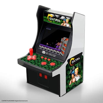 My Arcade Officially Partners With Konami For Contra Arcade Products