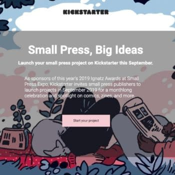 Kickstarter Plans Big Small Press Comics Push for September