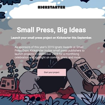 Kickstarter Wants to Promote Your Small Press Comic in September