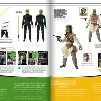 Star Wars Vintage Collection Archive Edition Book Now on Kickstarter
