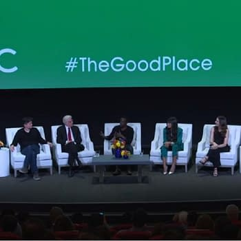 The Good Place Cast Talk Perfect Series Finale Universally Beloved Ted Shirtless Will and More [VIDEO]