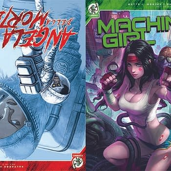Red 5 Comics Debut Angela Della Morte Machine Girl Riptide 2 and Butcher Queen at San Diego Comic-Con 2019