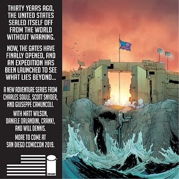 For the 4th Of July &#8211 a Comic About a USA That Built a Wall Against Everyone From Scott Snyder Charles Soule Giuseppe Camuncoli