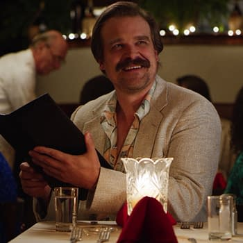 Stranger Things 3: David Harbour &#038 Magnum P.I. &#8211 The Passing of the Stache We Need in Our Lives [VIDEO]