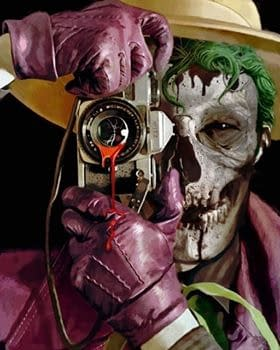 Separated At Birth: Arthur Suydams DCeased #4 and Harleys Joker Cosplay &#8211 With a Killing Joke