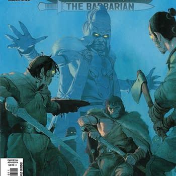 Cimmerian Anti-Vaxerism Run Rampant in Conan the Barbarian #8 [Preview]