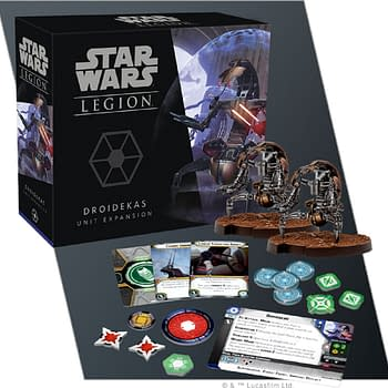 Star Wars: Legion Rolls Out New Droidekas Troops