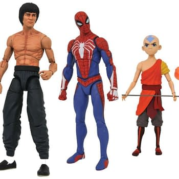 New From Diamond Select: Black Hole Spidey Bruce Lee Avatar and More