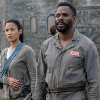 Danay Garcia as Luciana, Colman Domingo as Victor Strand - Fear the Walking Dead _ Season 5, Episode 8 - Photo Credit: Van Redin/AMC