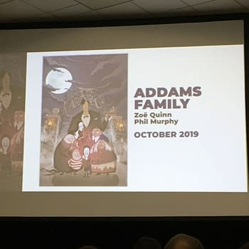 Zoe Quinn and Phil Murphy to Create Addams Family Comic For IDW
