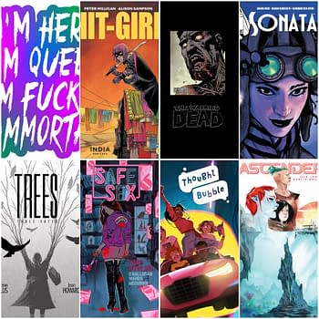 Image Comics FULL Solicitations October 2019 &#8211 Marked Chrononauts Thought Bubble Nomen Omen Copra and Dead Eyes