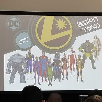 DC Comics Give Away Plastic Legion Rings With Launch of Legion Of Superheroes in November