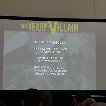 DC Villains Stage Hostile Takeover in November, With Acetate Covers