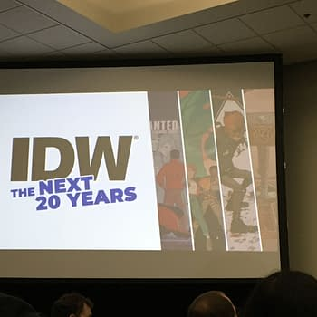 Notes and Photos from the IDW: The Next 20 Years Panel at San Diego