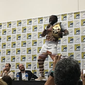 When Wrestlers Bust Into Your San Diego Comic-Con Set &#8211 The Boom Studios: Discover Yours Panel 2019