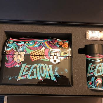Legion: FX Fearless Press Box SDCC 2019 Unboxing &#038 Bill Sienkiewicz Signing [VIDEO IMAGES]