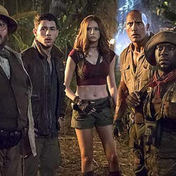 Jumanji: The Next Level Kevin Hart Trolls Dwayne Johnson for Halloween and Final Trailer