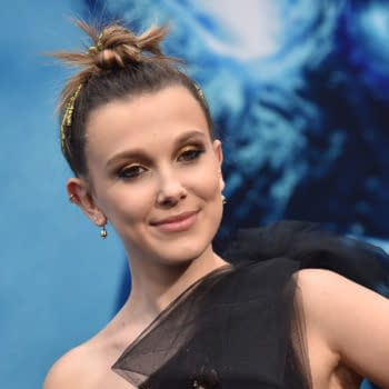 Millie Bobby Brown arrives for the 'Godzilla: King of the Monsters' Hollywood Premiere on May 18, 2019 in Hollywood, CA. Editorial credit: DFree / Shutterstock.com