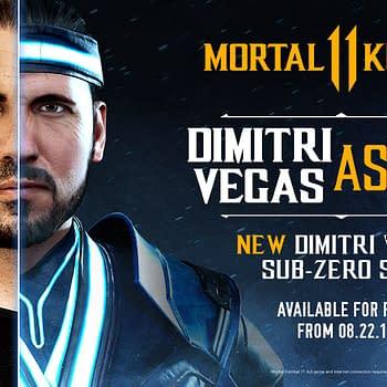 Mortal Kombat 11 To Get A Dimitri Vegas Sub-Zero Skin