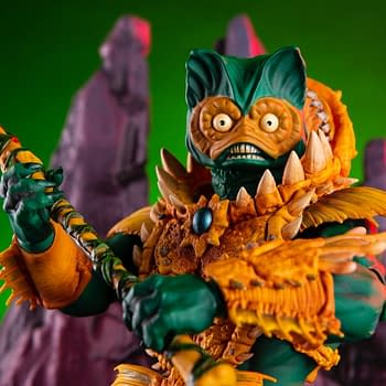 Mer-Man MOTU 1/6th Scale Mondo Figure Up For Preorder Now