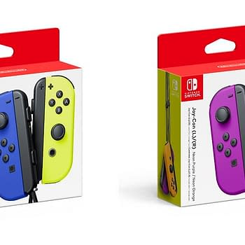 Nintendo Announces Two New Sets Of Joy-Cons In Neon