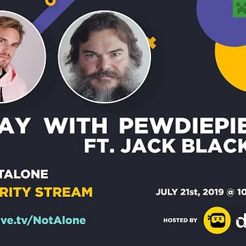 PewDiePie &#038 Jack Black Team Up For Minecraft Mental Health Charity