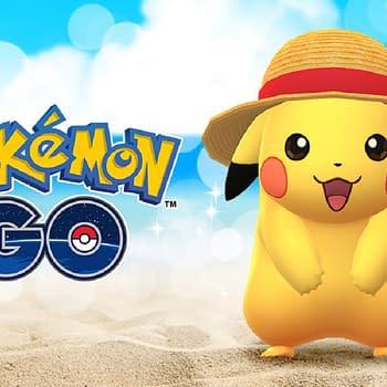 Pokémon GO Offers A Straw Hat Pikachu For The Next Week