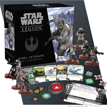 Star Wars: Legion: Preview of Rebel Veterans from FFG