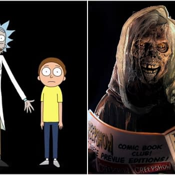 Rick and Morty Sets Portal Gun for C-SDCC Creepshow Set to Attend