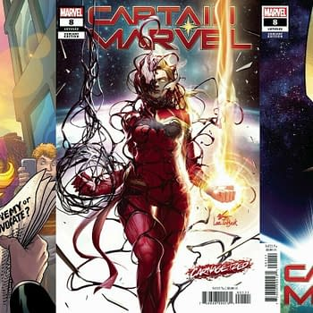 Captain Marvel #8 Now a $25 Comic on eBay