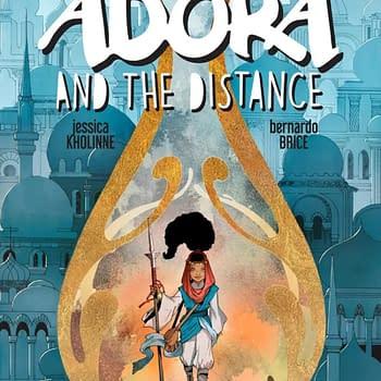 Adora and the Distance a New ComiXology Original From Marc Bernadin and Ariela Kristantina