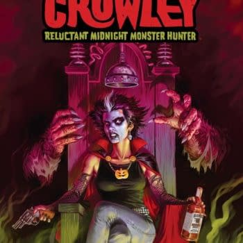 David Dastmalchian Writes a New Dark Horse Series, Count Crowley: Reluctant Midnight Monster Hunter