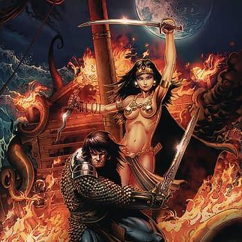 Ablaze Brings Glenats Uncensored Violent Sexual Conan Comics to U.S. in October