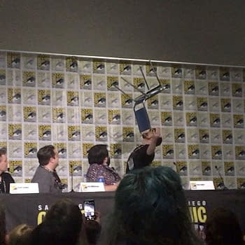 Watch Tom Taylor Balance a Chair on His Face at SDCC